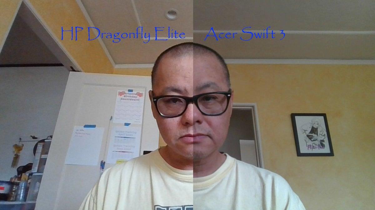 acer swift 3 webcam vs hp dragonfly elite