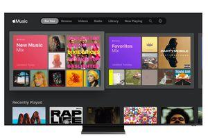 apple music samsung smart tv