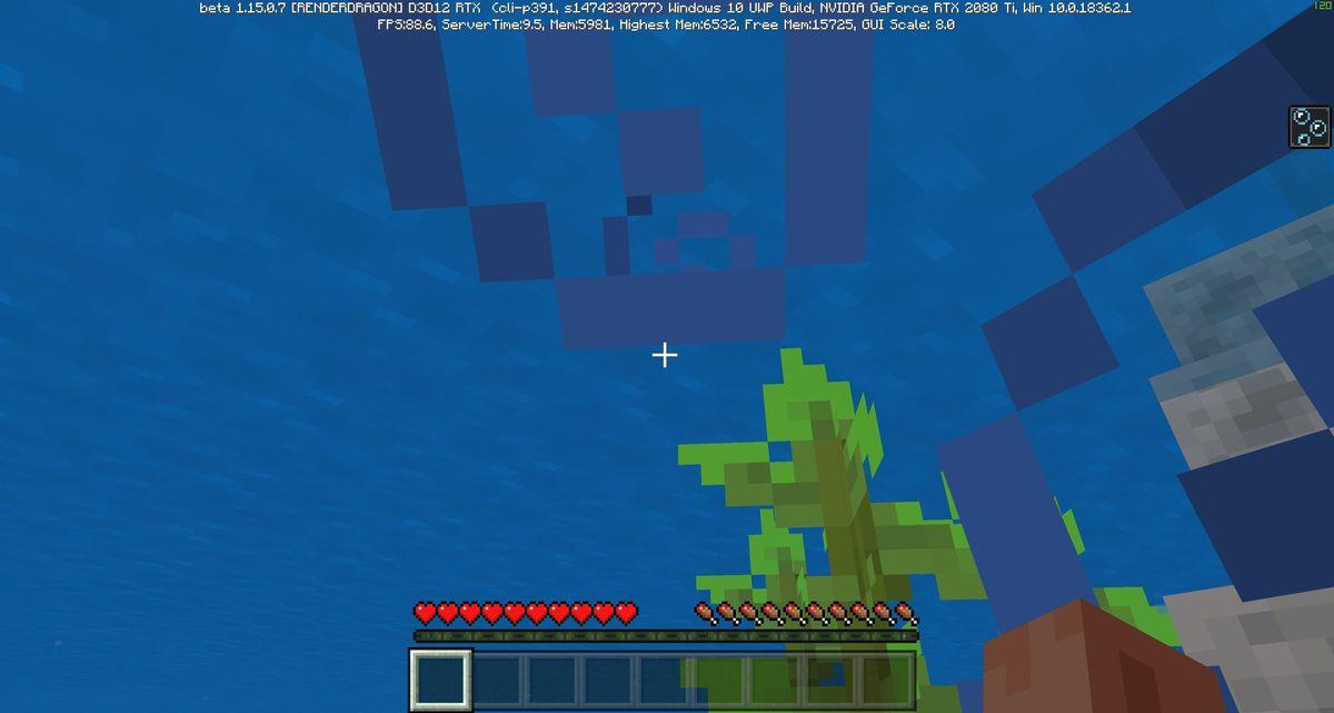 aquatic adventure rtx off