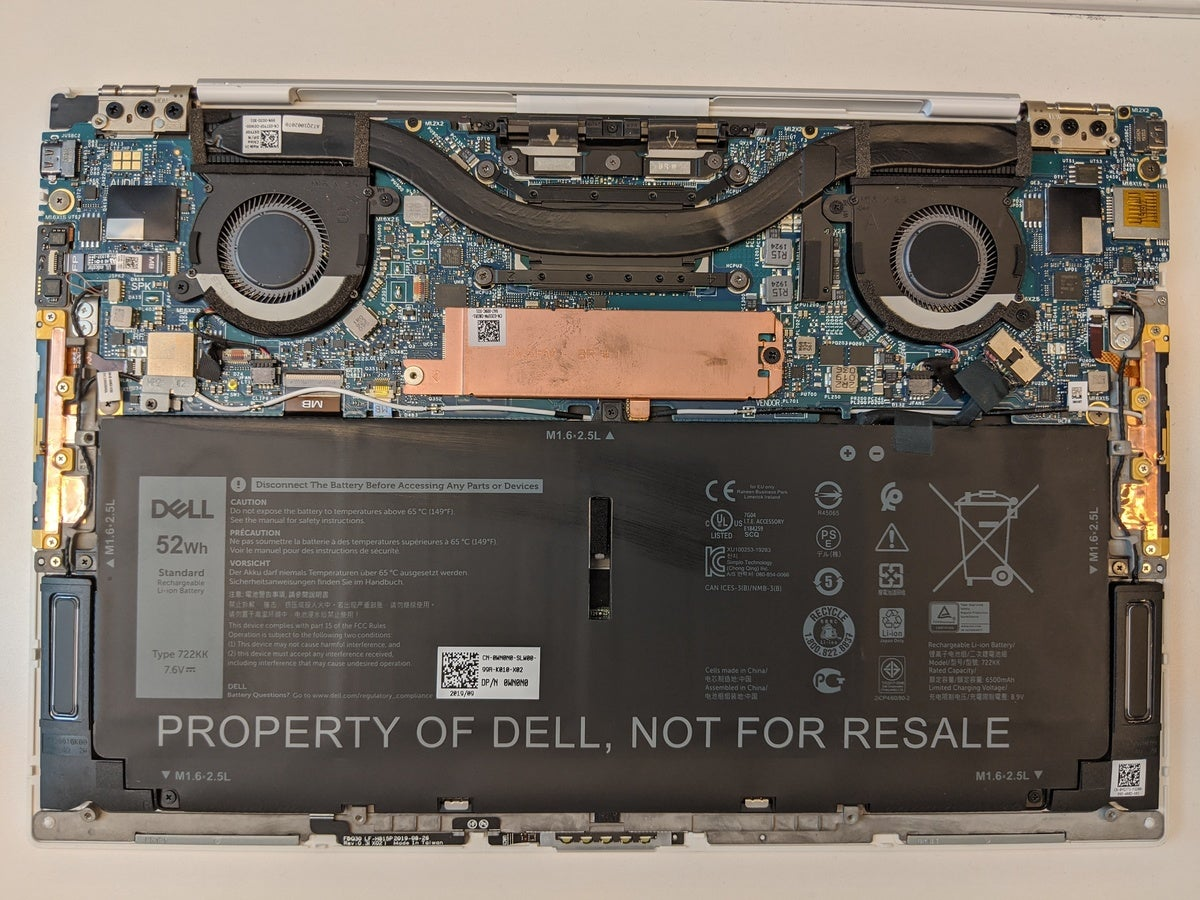 dell xps 9300 guts