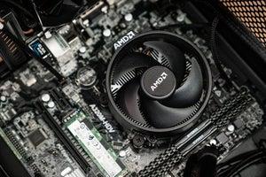 $300 Athlon 3000G Full Nerd Build mobo view