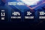 Intel calls its 5.3GHz 'Comet Lake-H' chip for gaming laptops the 'fastest mobile processor'