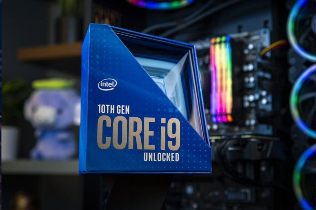 Intel claims its Core i9-10900K Comet Lake chip is the world's fastest gaming processor