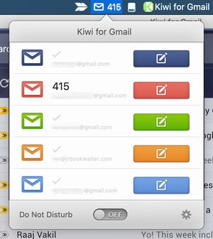 kiwi for gmail 2 menubar shortcuts