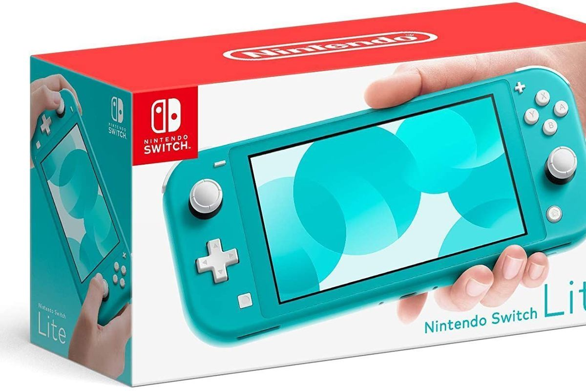 The 199 Nintendo Switch Lite Is Actually In Stock At Amazon Right