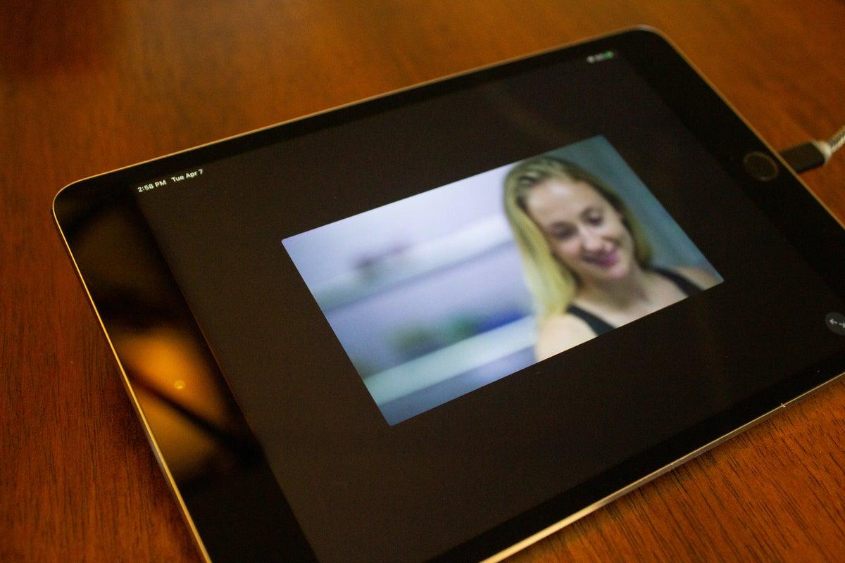 Datrysiad diofyn Quebec ar iPad mini