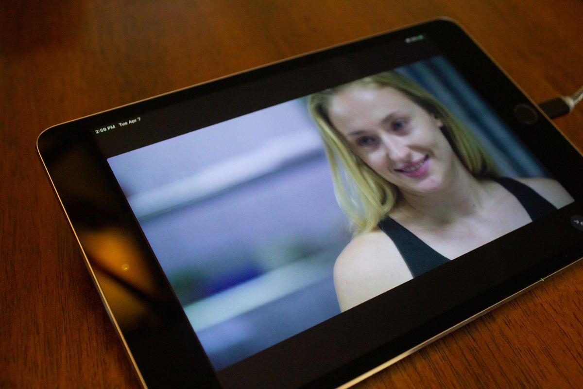 Roedd golygfa o Giwba yn rhychwantu'r mini iPad