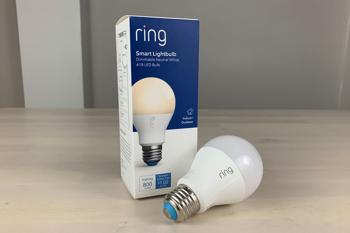 Ring A19 Smart Led Bulb Review