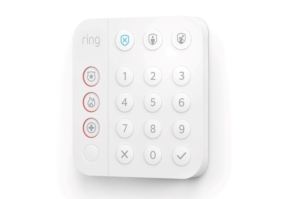 ring alarm second generation keypad