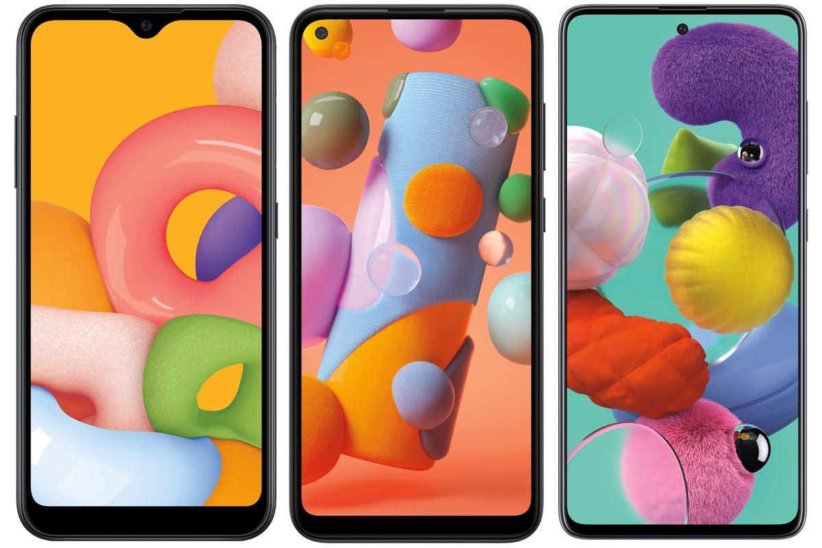 Samsung unveils low-cost Galaxy A-Series phones to reverse U.S. smartphone slump