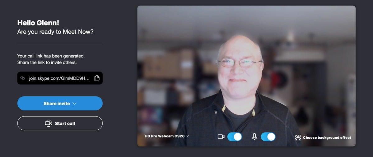 skype join meet me setup