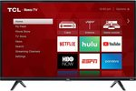 This 49-inch TCL Roku TV, perfect for cord-cutting, is just $230 today