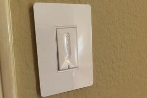 treatlife single pole dimmer installed