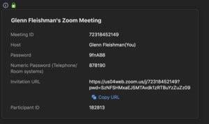 zoom meeting invite copy