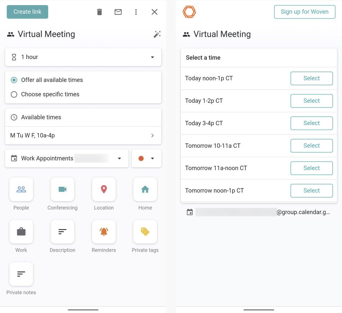 06 aplicaciones de calendario android calendario tejido