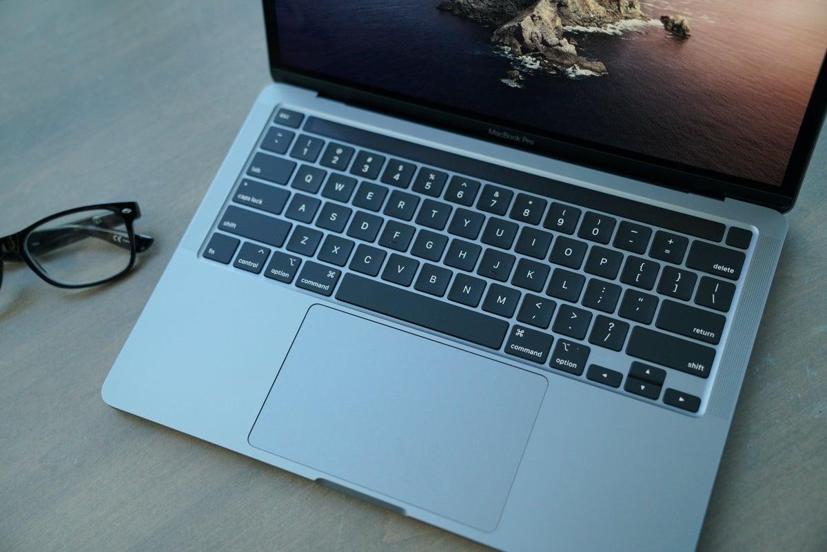 13-inch Macbook Pro 2020 keyboard