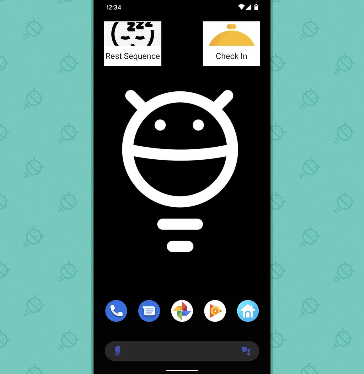 Android, bloques de acción del Asistente de Google (2)