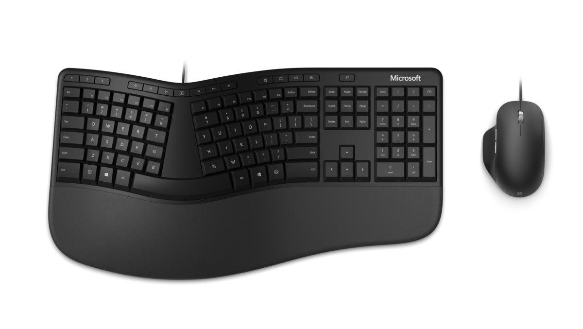 microsoft ergonomic desktop