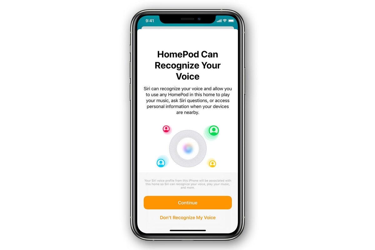 homepod voice recognize