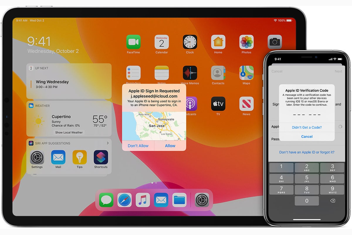ios13 two factor