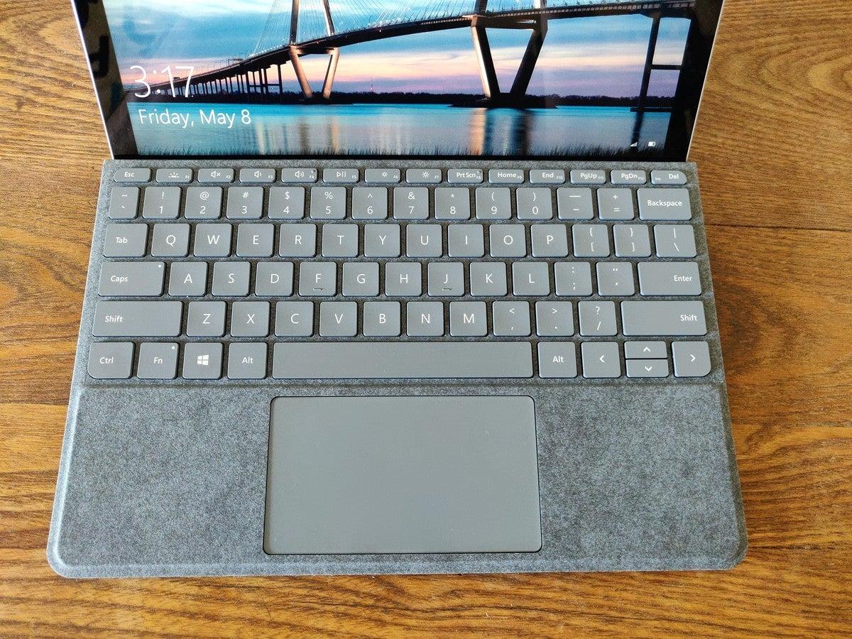 Microsoft Surface Go 2 keyboard