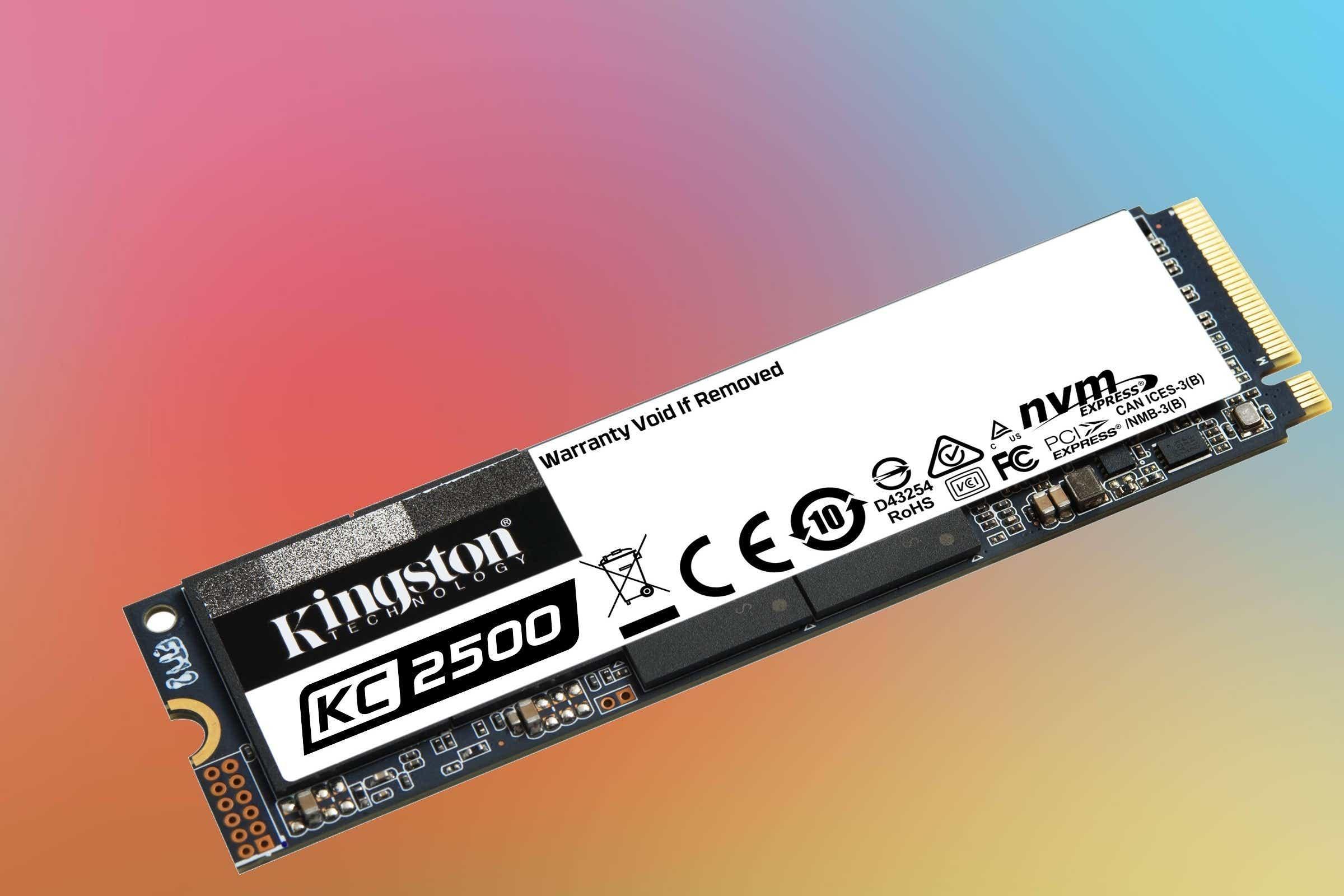Kingston KC2500 NVMe SSD (1TB)