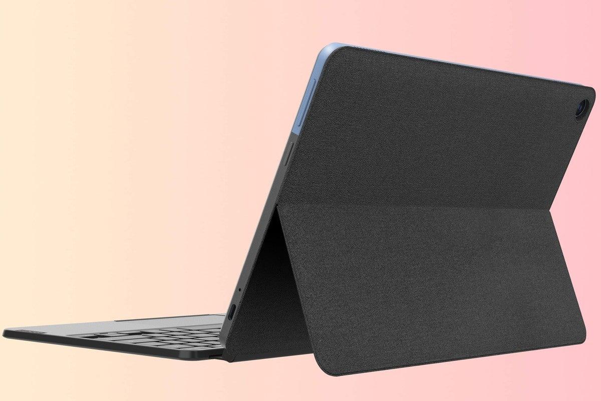 lenovo ideapad chromebook duet rear 3qtr2