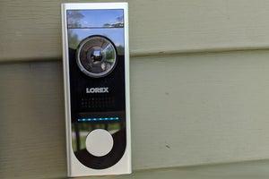 lorex video doorbell installed