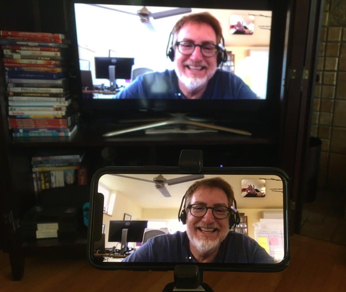 mac911 apple tv with camera