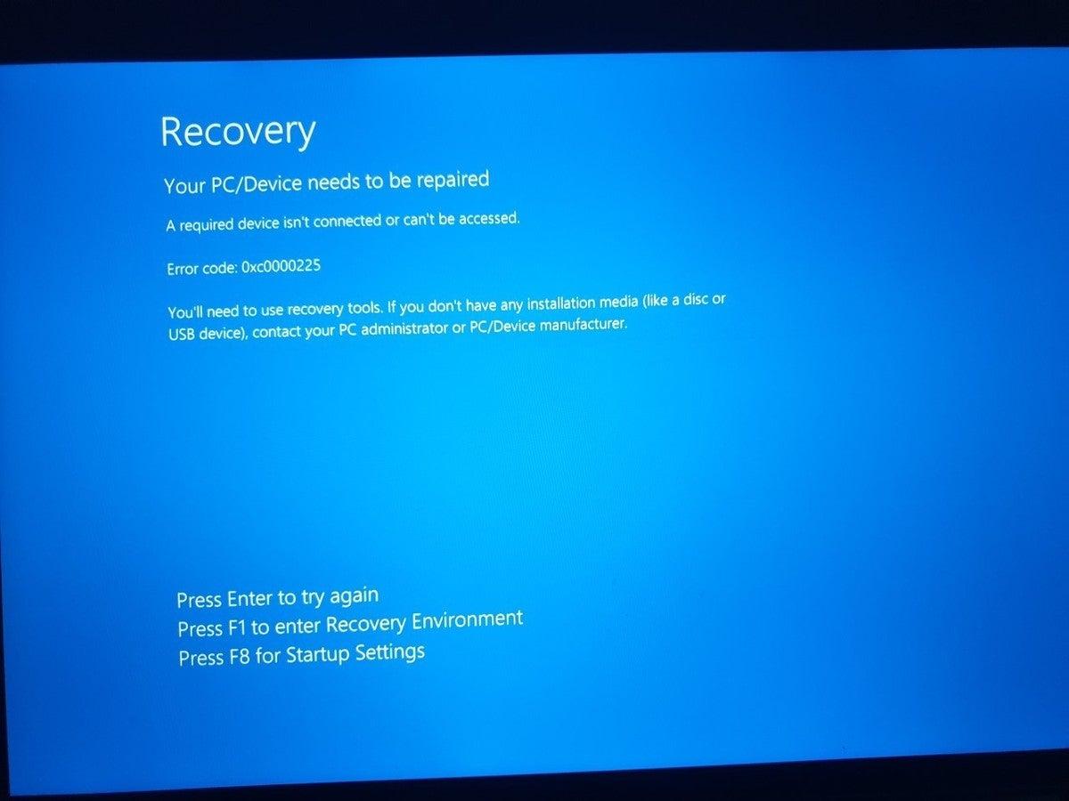 mac911 windows recovery on a mac