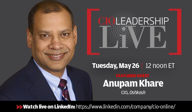 CIO Leadership Live, May 26
