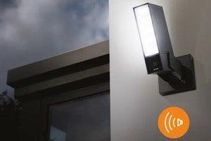 netatmo smart outdoor camera with siren