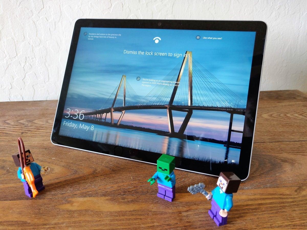 Microsoft Surface Go 2 پشتیبانی می شود