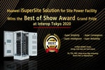Huawei iSuperSite Solution Wins 'Best of Show Award' Grand Prize at Interop Tokyo 2020