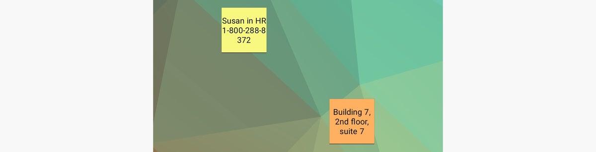 colornote de los widgets de Android