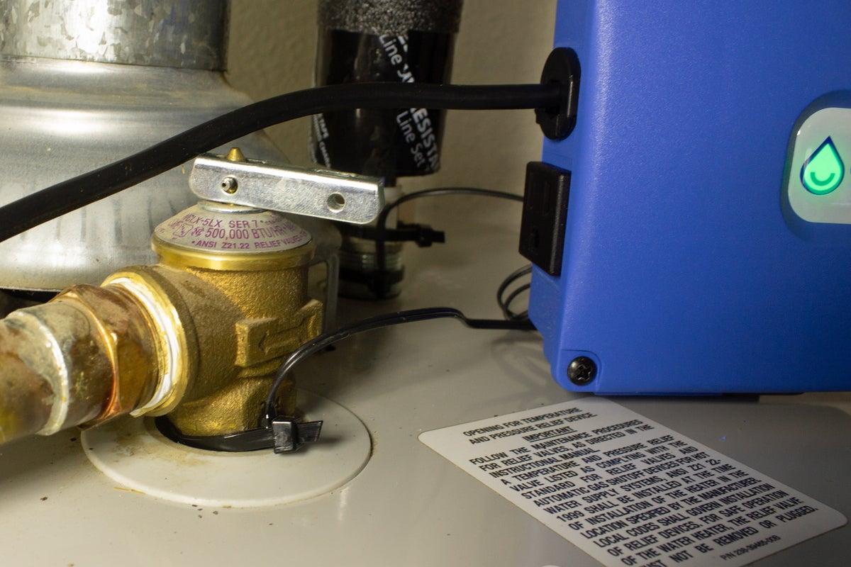 capteur aquanta sur soupape de sécurité tandp