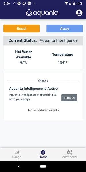 disponibilité et température de l'eau