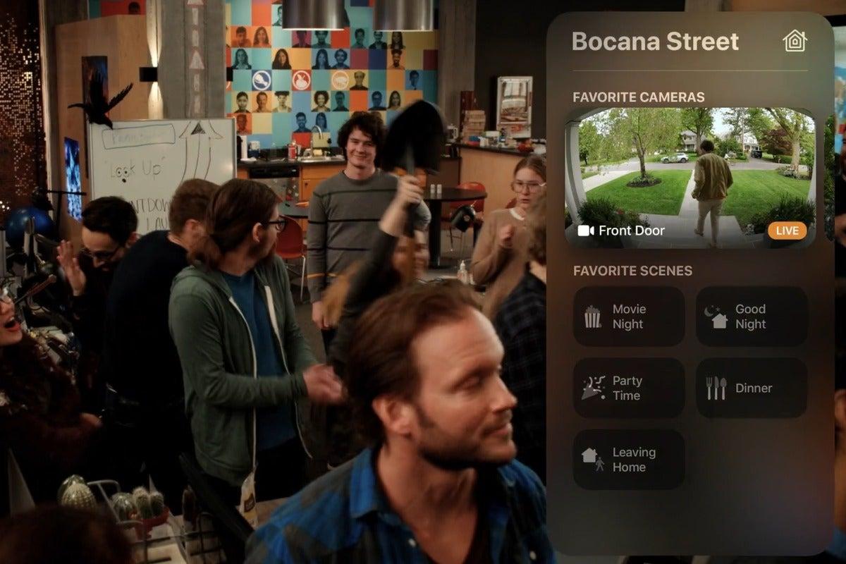 homekit apple tv security camera live stream