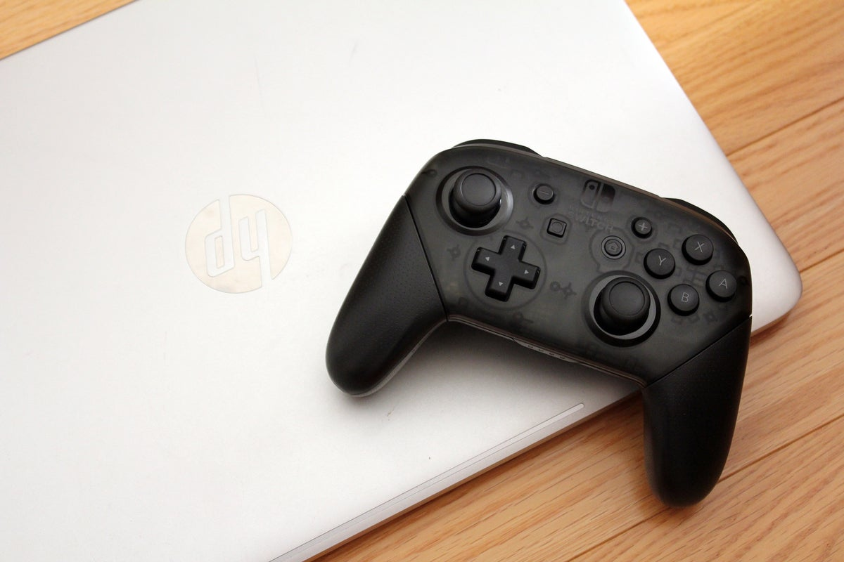 How To Use A Nintendo Switch Pro Controller With A Pc Pcworld