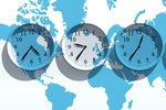 How to work across time zones in Outlook