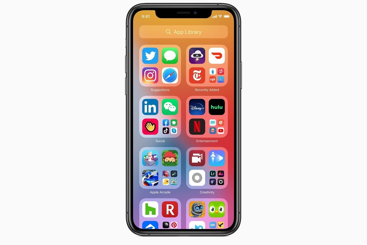 Ios 14 How To Use App Library On Iphone Computerworld