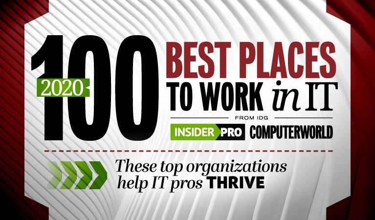 Insider Pro | Computerworld  >  100 Best Places to Work in IT [2020]