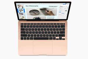 macbook air 2020 gold