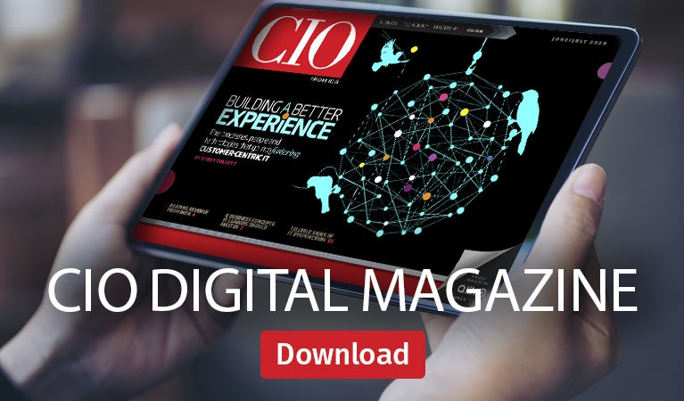 CIO digital magazine, June/July 2020