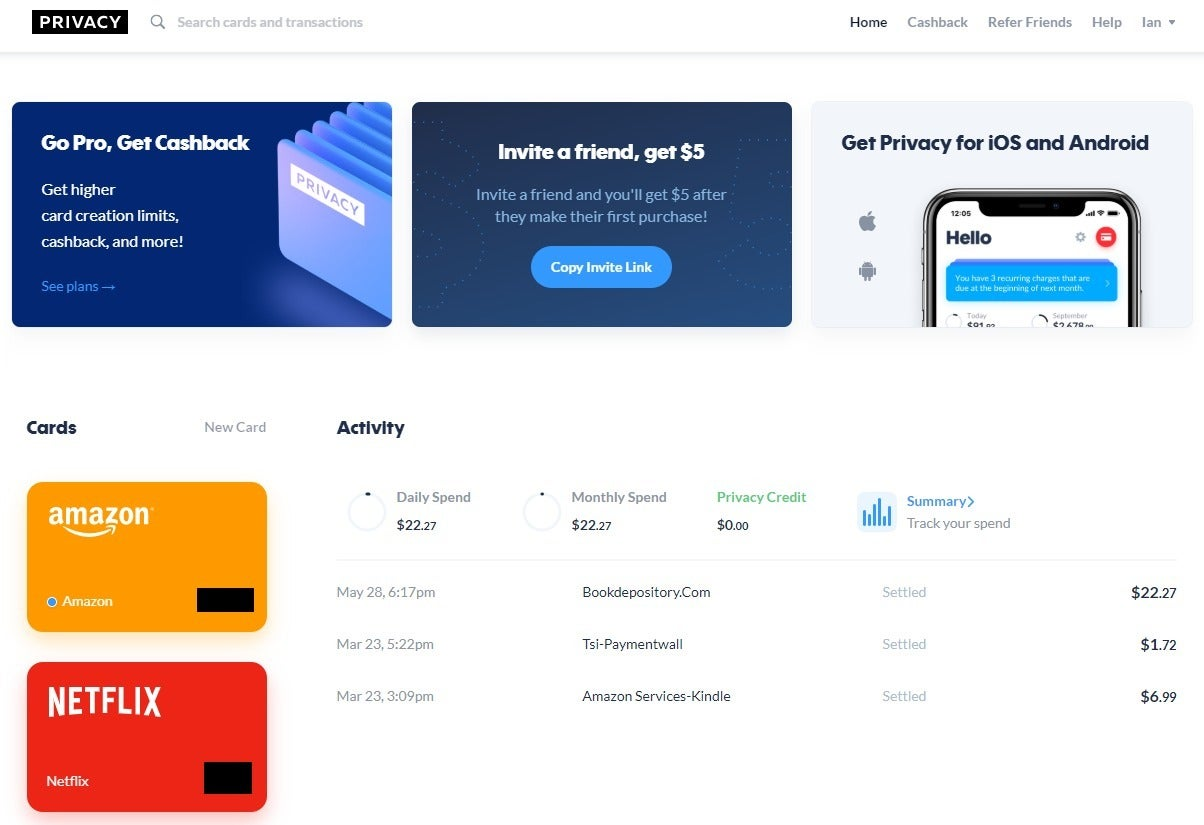 privacy review burner debit cards made easy  pcworld