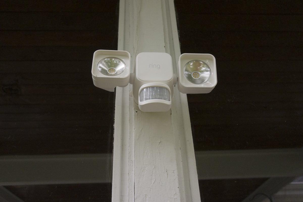 ring solar floodlight front
