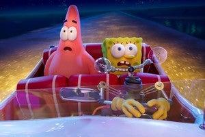 spongebob spunge on the run