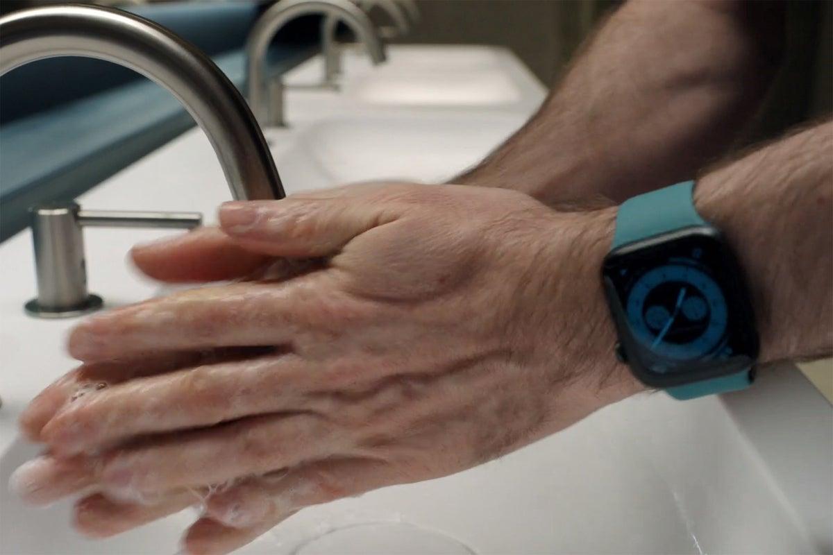 watchos 7 hand washing