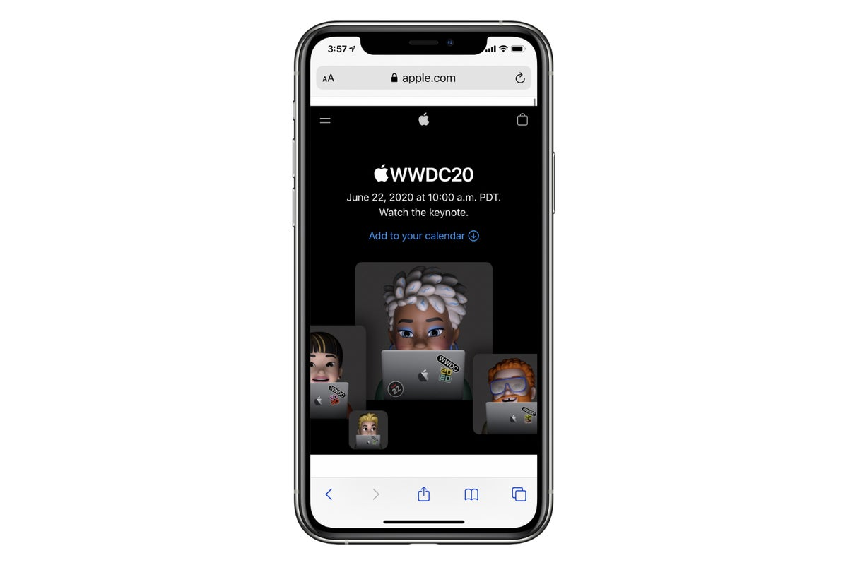 wwdc20 iphone stream