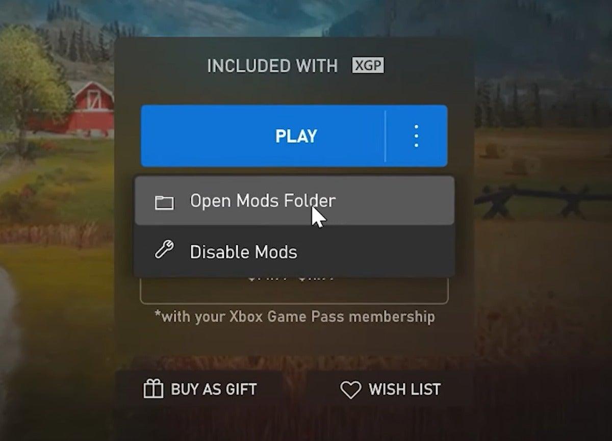 Microsoft xbox APP mods 3 Windows 10